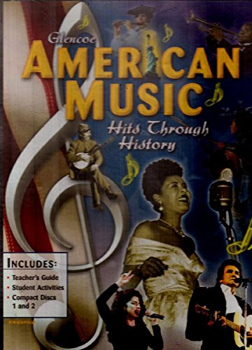 9780078264160: American Humanities Resources, American Music Hits Through History CD