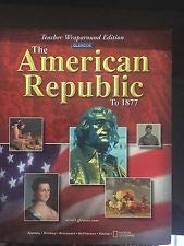 American Republic to 1877, Teacher: McGraw-Hill Staff