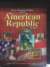 9780078264757: The American Republic to 1877, Teacher's Wraparound Edition