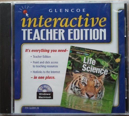 9780078264887: Glencoe Science Life Science Interactive Teacher Edition