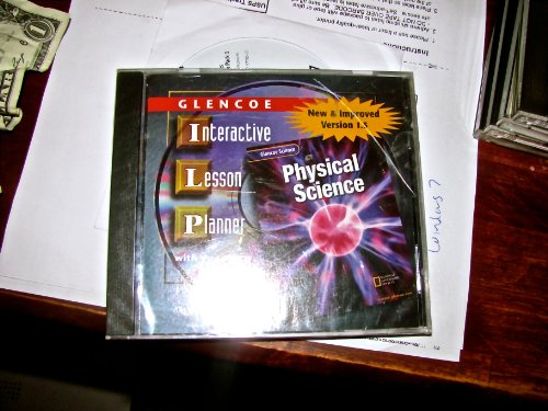9780078264917: Physical Science, Interactive Lesson Planner CD-Rom