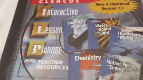 9780078264931: Glencoe Science: Physical Science Modules Interactive Lesson Planner CD-Rom