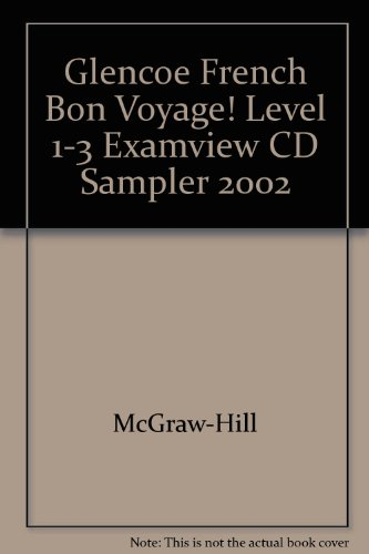 Examview Pro Test Bank Cd Rom Sampler: Glencoe McGraw Hill