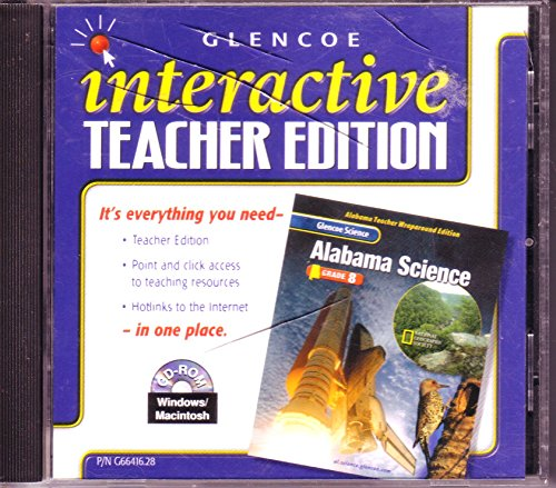 9780078266416: Glencoe Science Alabama Grade 8 Interactive Teacher's Edition