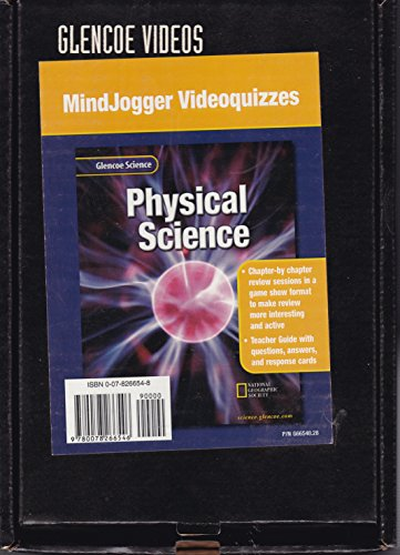 9780078266546: Glencoe Science: Physical Science, Mindjogger Videoquizzes