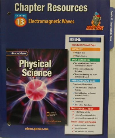 9780078267864: Glencoe Science: Physical Science- Chapter Resources