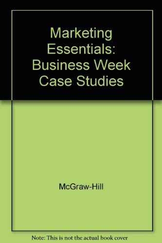 9780078268328: Marketing Essentials: Business Week Case Studies