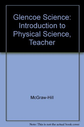 9780078268816: Introduction to Physical Science (Teacher's Wraparound Edition)