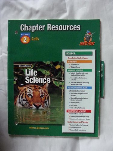 9780078269004: Glencoe Science: Life Science Chapter 2 Cells Chapter Resources 429 02