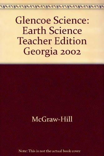 9780078269271: Glencoe Science Earth Science (Georgia Teacher Wraparound Edition)