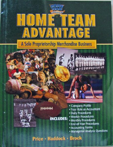 Home Team Advantage: A Sole Propietorship Merchandise Business: Price