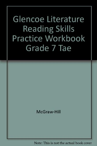 9780078271847: LITERATURE The reader's choice Reading Skills Practice Workbook (Teacher Annotated Edition)