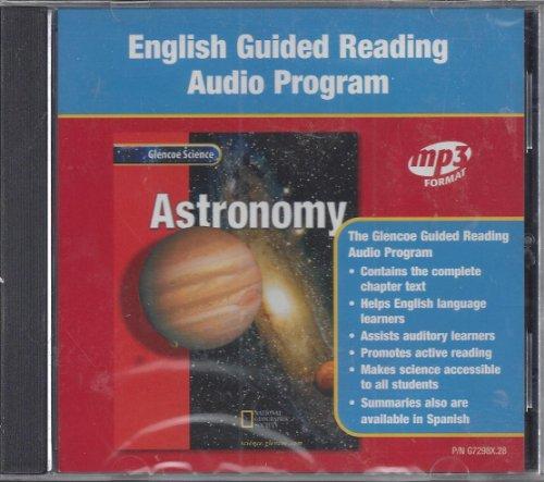 9780078272981: Glencoe Science: Astronomy, Guided Reading Audio Program, English