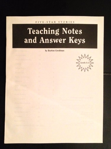 9780078273575: Goodman's Books Five Star Stories: Teachers Notes and Answer Key