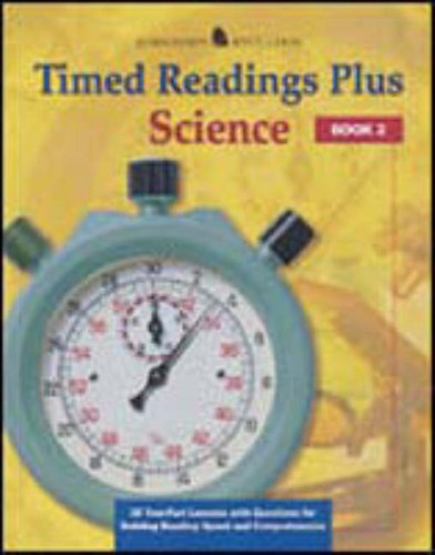 9780078273704: Timed Readings Plus in Science: Book 1