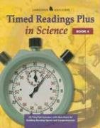 9780078273735: Timed Readings Plus in Science: Book 4