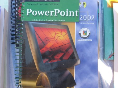 9780078274060: PowerPoint 2002 Comprehensive Annotated Instructor's Edition