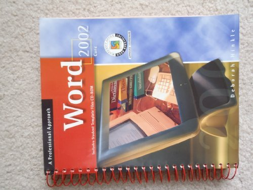 9780078274206: Word 2002: Core, A Professional Approach, Student Edition with CD-ROM