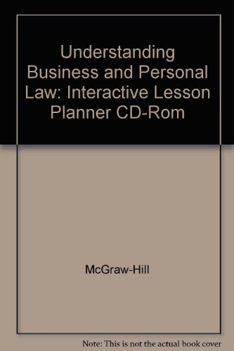 9780078275210: Understanding Business and Personal Law: Interactive Lesson Planner CD-Rom
