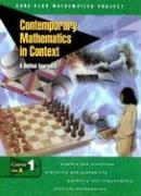 9780078275371: Contemporary Mathematics in Context: A Unified Approach, Course 1, Part A, Student Edition