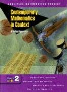9780078275425: Contemporary Mathematics in Context: A Unified Approach, Course 2, Part B, Student Edition