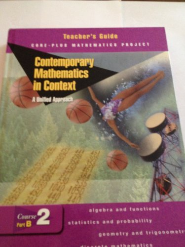 9780078275432: Contemporary Mathematics in Context: A Unified Approach Course 2, Part A (Teacher's Guide)