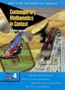 9780078275494: Contemporary Mathematics in Context: A Unified Approach, Course 4, Part A, Student Edition