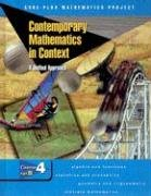 9780078275500: Contemporary Mathematics in Context: A Unified Approach, Course 4, Part B, Student Edition
