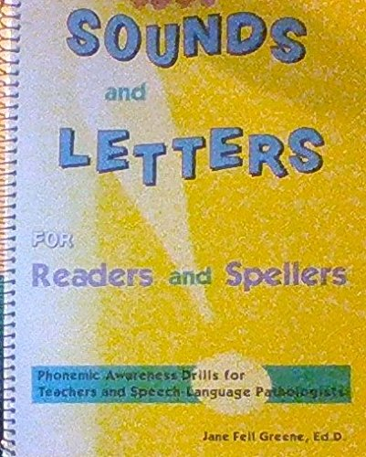 9780078276095: Sounds and Letters for Readers and Spellers (Phonemic Awareness Drills for Teachers and Speech-Language Pathologists)