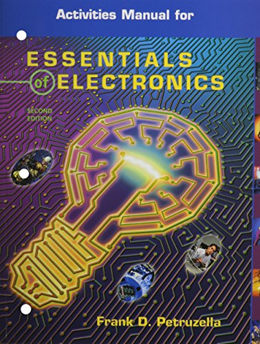 9780078276972: Essentials Of Electronics, Activities Manual with MultiSIM CD-ROM