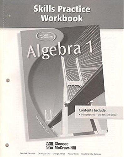 9780078277474: Algebra 1 Skills Practice Workbook (Glencoe Mathematics)