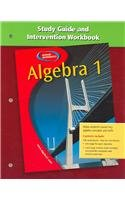 9780078277535: Algebra 1: Study Guide and Intervention Handbook