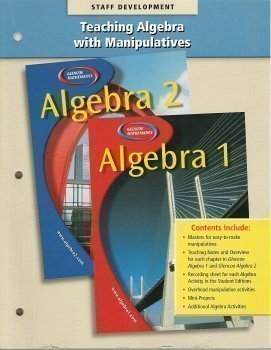 9780078277559: Teaching Algebra with Manipulatives - For use with Glencoe Algebra 1 & 2