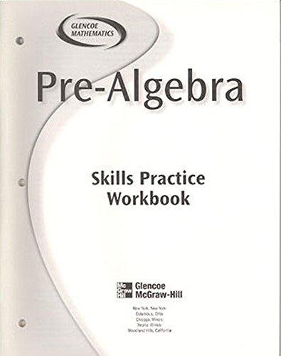 9780078277887: Pre-Algebra, Skills Practice Workbook