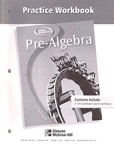9780078277894: Pre-Algebra, Practice Workbook