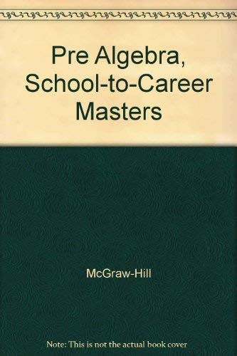 9780078277924: Algebra 2 School-to-Career Masters