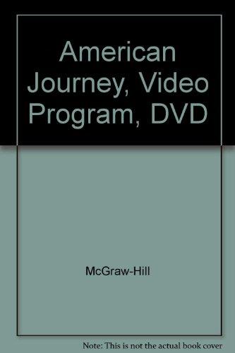 9780078278082: American Journey, Video Program, DVD