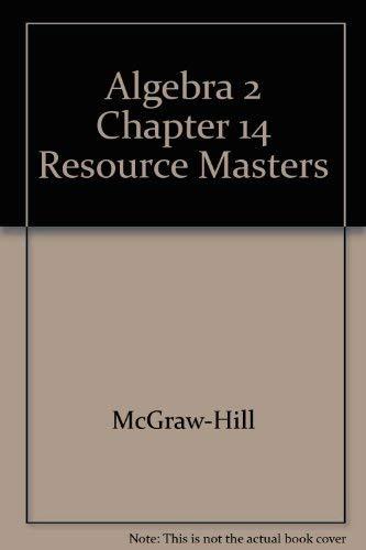 9780078280177: Algebra 2 Chapter 14 Resource Masters