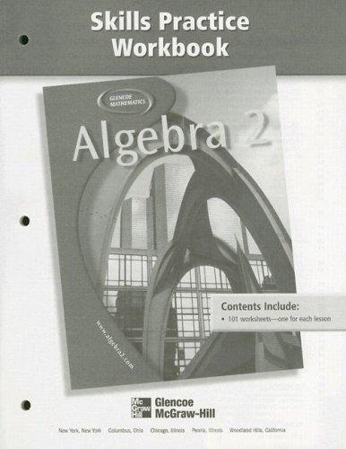 9780078280238: Algebra 2 Skills Practice Workbook