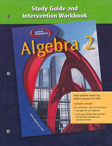 9780078280290: Algebra 2: Study Guide and Intervention Workbook