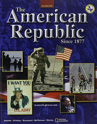 9780078280887: The American Republic Since 1877 Texas Student Edition 2003