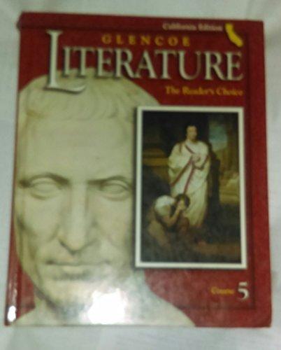 9780078281457: Glencoe Literature: Reader's Choice, California Edition, Course 5