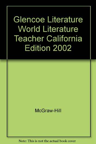 9780078281532: Literature The Reader's Choice World Literature (California Edition, Teacher Wraparound Ed.)