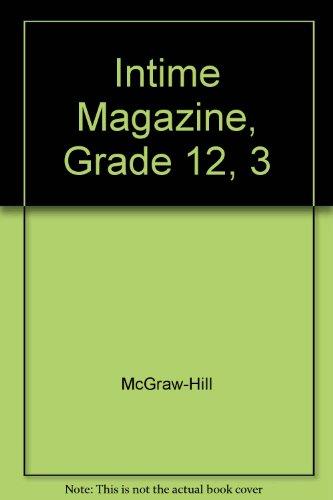 9780078281686: Intime Magazine, Grade 12, 3