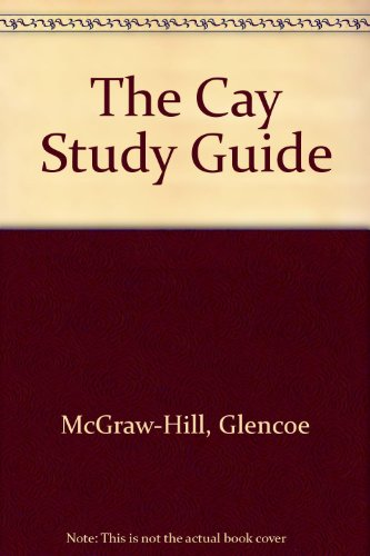 9780078282690: Glencoe Literature Library Study Guide: The Cay, with Related Readings