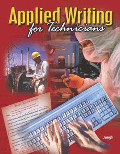 9780078283581: Applied Writing for Technicians with Student Tutorial CD