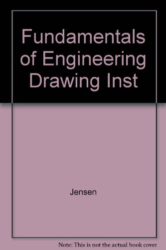 9780078283642: Fundamentals of Engineering Drawing Inst