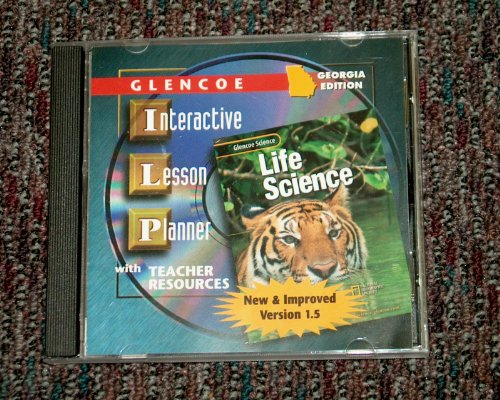9780078283710: Glencoe Life Science Georgia Interactive Lesson Planner 2002