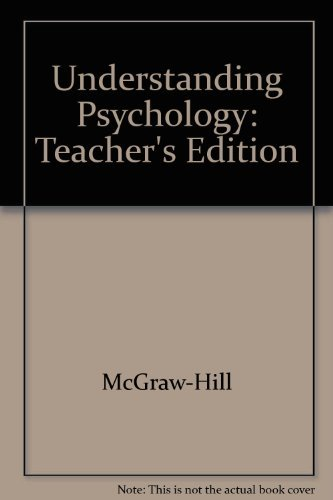 9780078285721: Understanding Psychology Teacher Wraparound Edition