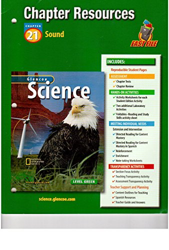 9780078286902: Integrated Science G7 Natl Chapter 21 Sound Chapter Resources 666 2003
